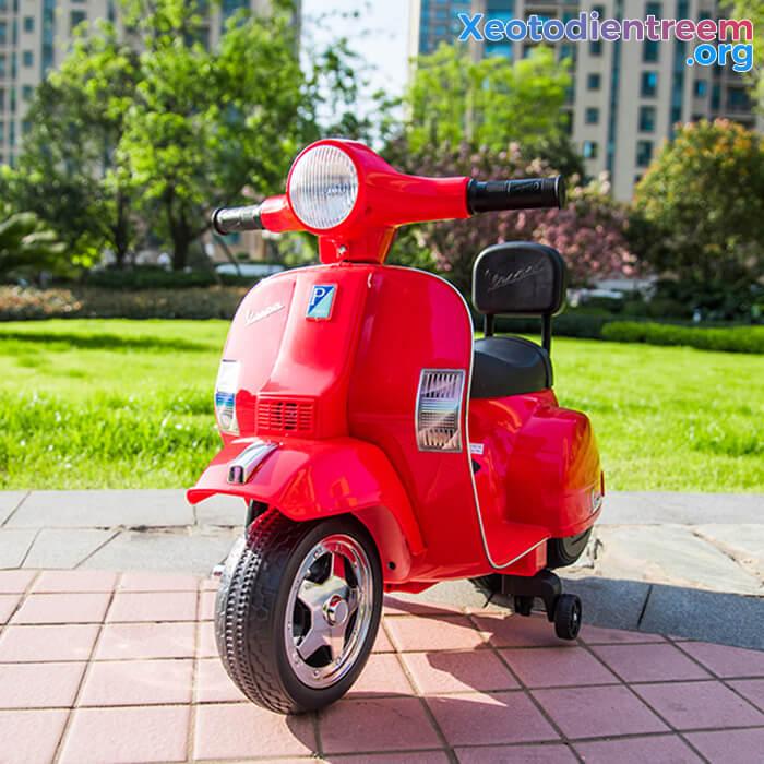 Xe máy điện cho bé Vespa A008 PX150 5