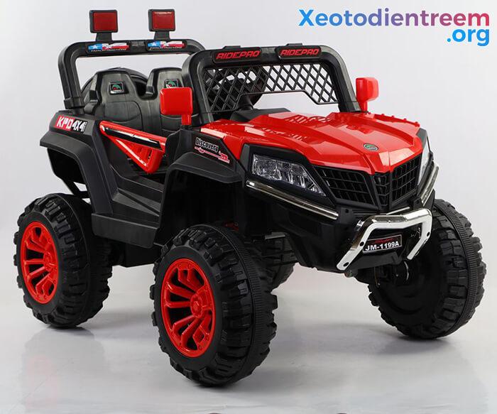Xe ô tô jeep chạy điện cho bé JM-1199A 4