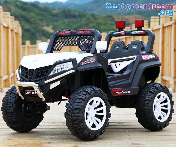 Xe ô tô jeep chạy điện cho bé JM-1199A 5