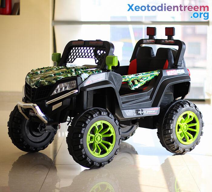 Xe ô tô jeep chạy điện cho bé JM-1199A 9