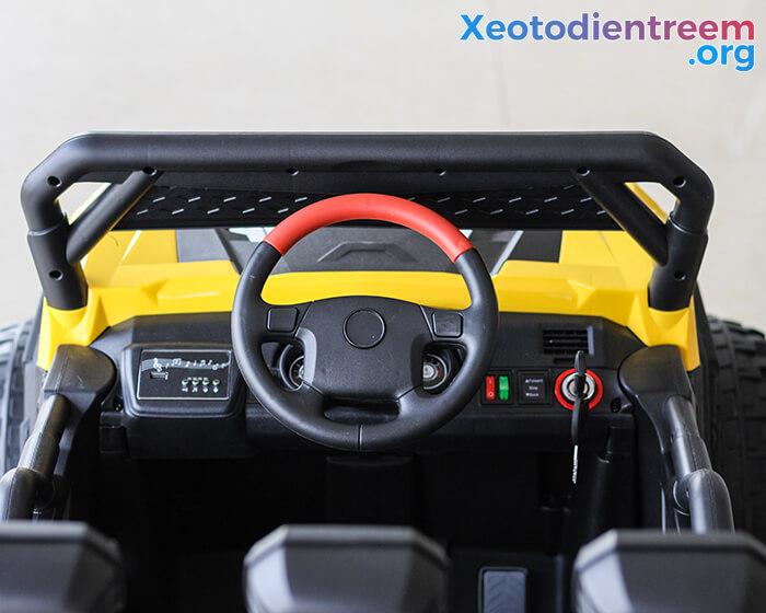 Xe ô tô điện Jeep cao cấp 4 động cơ HC-301 9